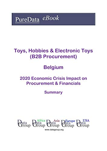 Toys, Hobbies & Electronic Toys (B2B Procurement) Belgium
