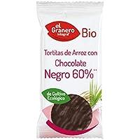 El Granero Integral Tortitas de Arroz con Chocolate Negro 60% Bio - 100 gr