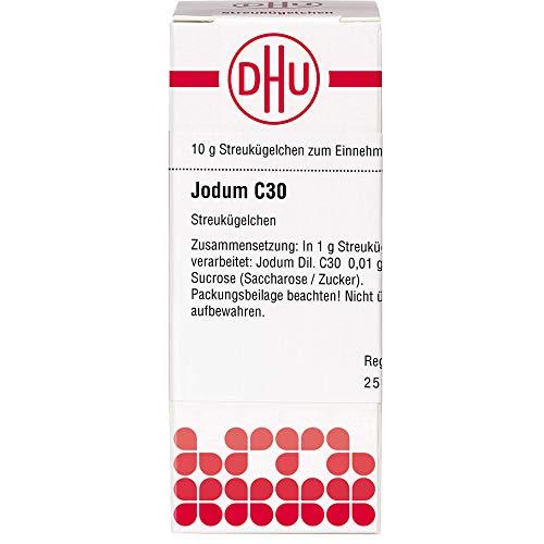 DHU Jodum C30 Streukügelchen, 10 g Globuli