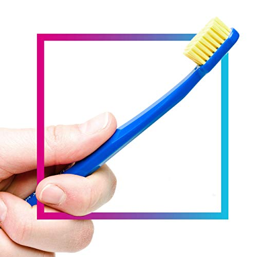 CURAPROX CS 5460 manual toothbrush ultra soft, 2 pieces, (assorted colors, color not selectable), very soft toothbrush, toothbrush
