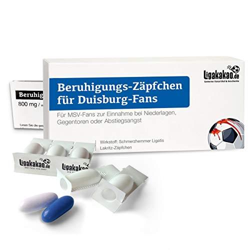 Geschenk männer ist jetzt BERUHIGUNGS-ZÄPFCHEN® für MSV-Fans by Ligakakao.de