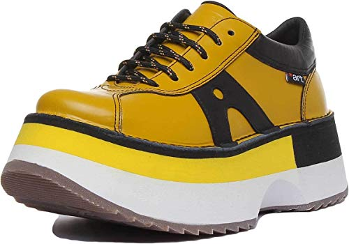 Art Company 1660 City Yellow/Art Life Femme 41 Chaussures Lacets