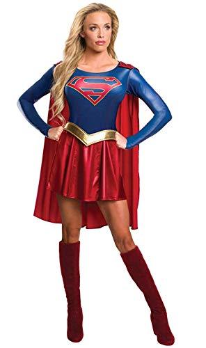 Rubies Costume Officielle de pour Femmes Adulte Supergirl (Série Télévisée) – Taille S.