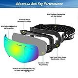 Zoom IMG-2 maschera da sci otg occhiali