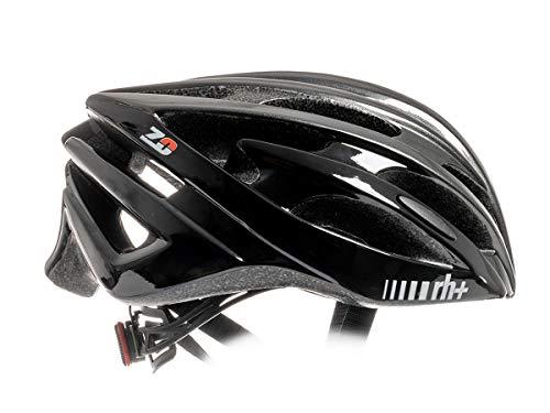 Zero RH+ Helmet Z Zero, Caschi Bici Bike Helmets Permanent Unisex – Adulto, Shiny Anthracite Metal-Shiny Black, L/XL