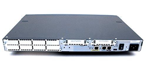 Cisco 2620XM - Router (Ethernet rápido, 10/100Base-T(X), 10,100 Mbit/s, 192-bit AES,256-bit AES,3DES,Des, iOS, Negro)