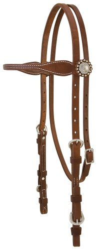 Weaver Leather Stacy Westfall ProTack Oiled Browband Headstall