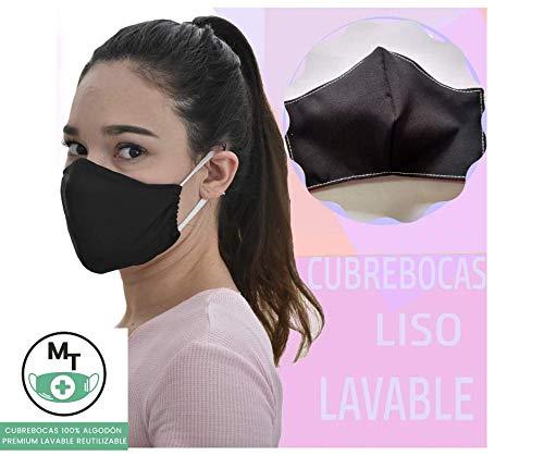 cubrebocas tela reusable triple proteccion antigripal