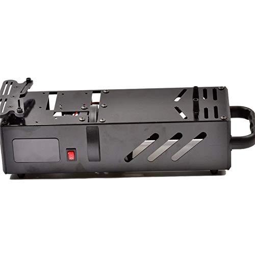 Caja de arranque nueva adecuada para modelo RC Caja de arranque adecuada para motor de control de radio Camión Buggy Truggy Adecuado para HSP 1/8 Repuestos de automóvil Accesorios ( Color : Black )