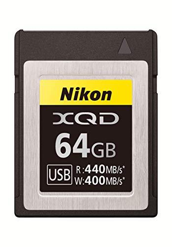 Nikon Professional XQD 64GB Speicherkarte (bis zu 440MB/s Lesen, bis zu 400MB/s Schreiben) VWC00101
