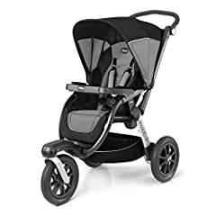 Accepts all Chicco KeyFit and Fit2 car seats with click-in attachment (sold separately) Exclusive Control Console with hand-operated swivel and brake controls for unmatched convenience Multi-position reclining seat with 3D Air Mesh backrest for impro...