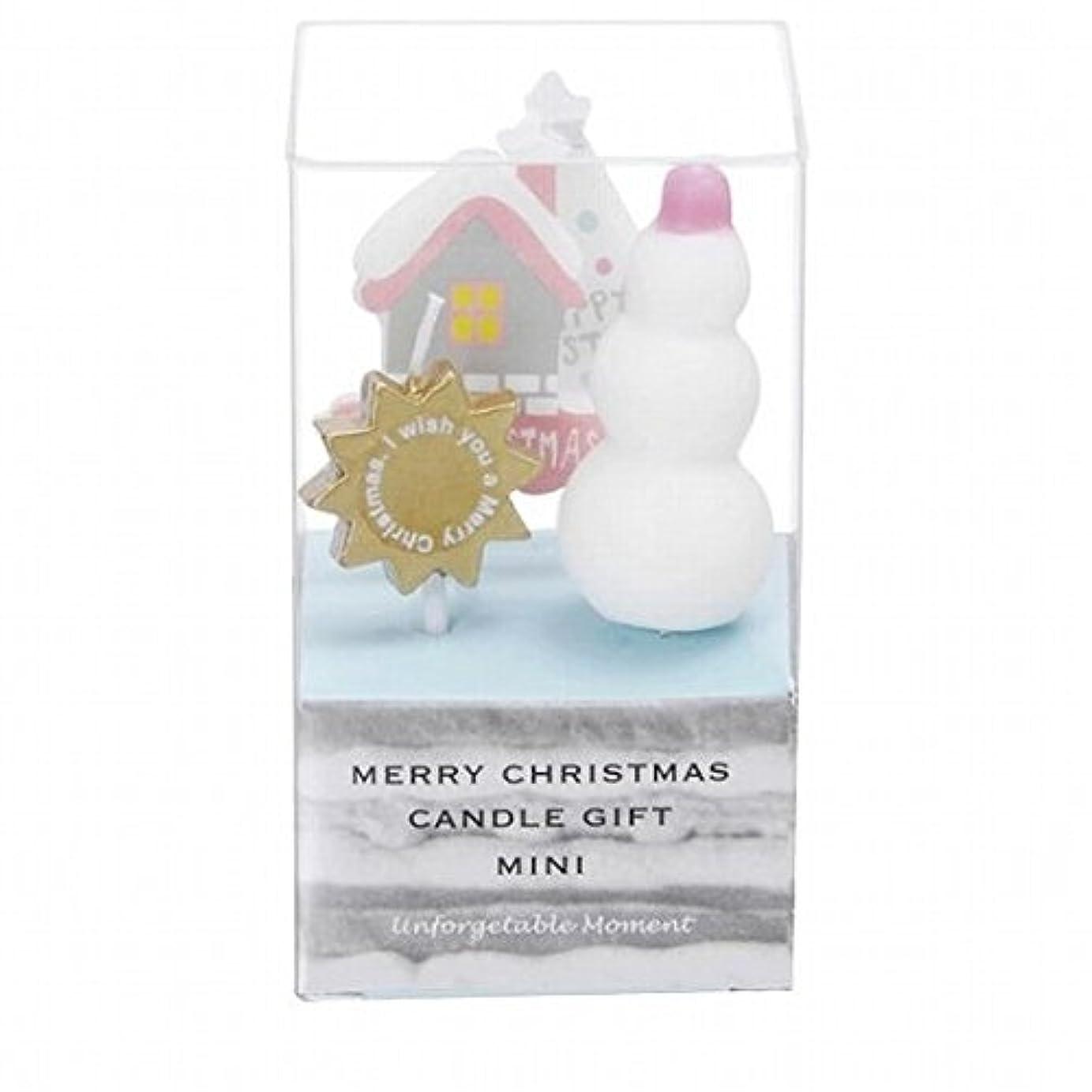 ラショナル分岐する自治kameyama candle(カメヤマキャンドル) クリスマスキャンドルギフトミニ 「 B 」(55350050)