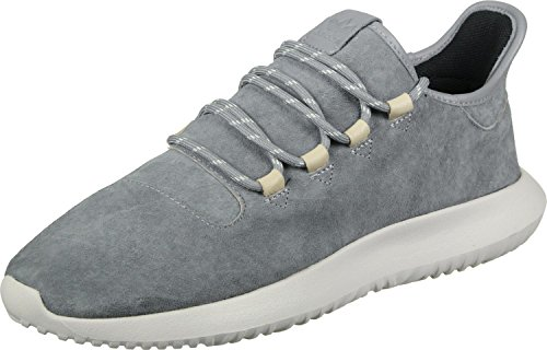 adidas Men's Tubular Shadow Low-Top Sneakers, Grey (Grey Three/Grey Three/Clear Brown), 9.5 UK