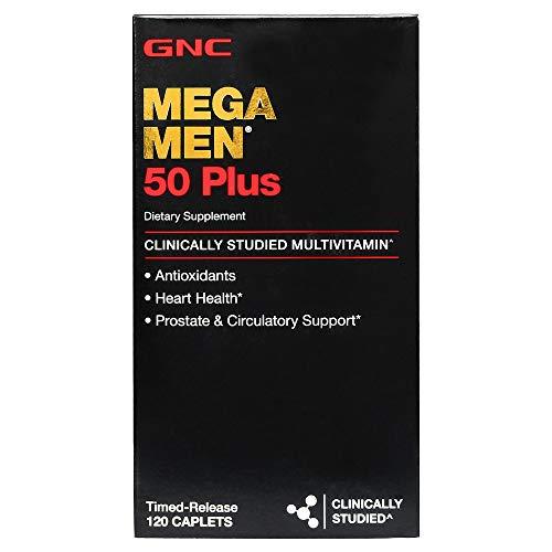 GNC Mega Hombres 50Plus, 120unidades