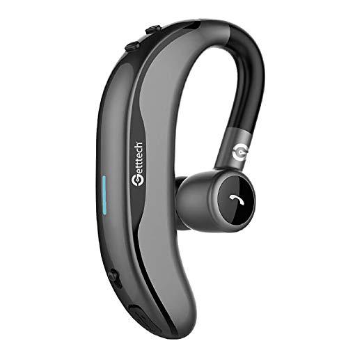 Auriculares de Clip Manos Libres Getttech Intune GAI-29901G, Bluetooth, inalambrico, con microfono, Gris (GAI-29901G)