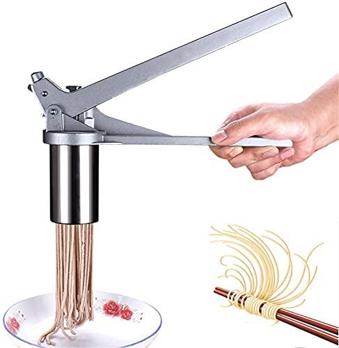 手動式パスタマシン 製麺機 パスタマシーン プレスタイプ 自宅で簡単に楽しく 麺作り ヌードル押しーカー ...