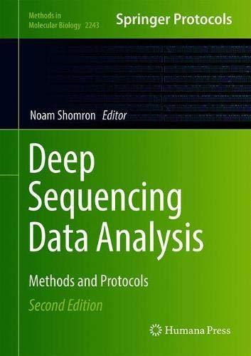 Deep Sequencing Data Analysis (Methods in Molecular Biology (2243), Band 2243)