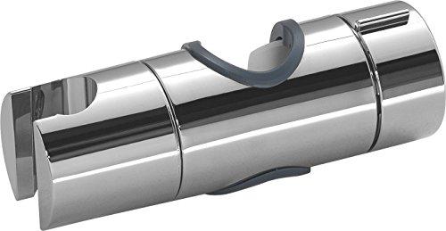 Gedy Slider mobiele houder voor douchestang, grijs, 4 x 12 x 4 cm