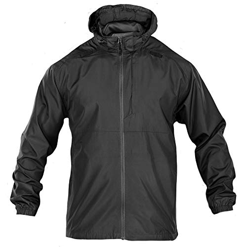 5.11 TACTICAL SERIES PACKABLE OPERATOR JACKET Veste Homme Black FR : 3XL (Taille Fabricant : 3XL)
