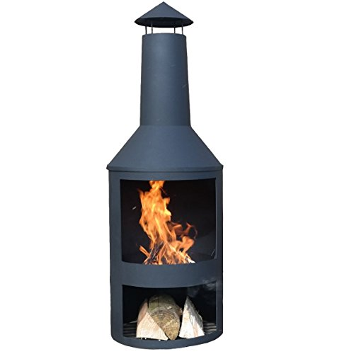 Chiminea outdoor fireplace Valencia - Free Shipping