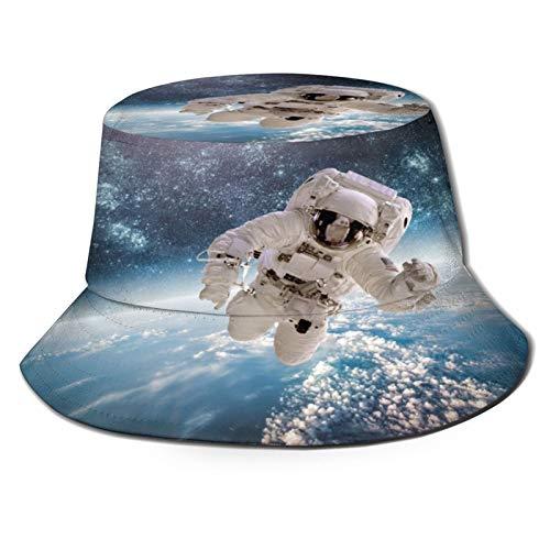 Sombrero Pescador Unisex,Astronauta en el espacio ultraterre