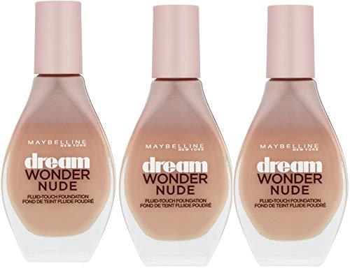 Dream Wonder Nude Grundierung 30 Sand, 3er Pack (3 x 20ml)