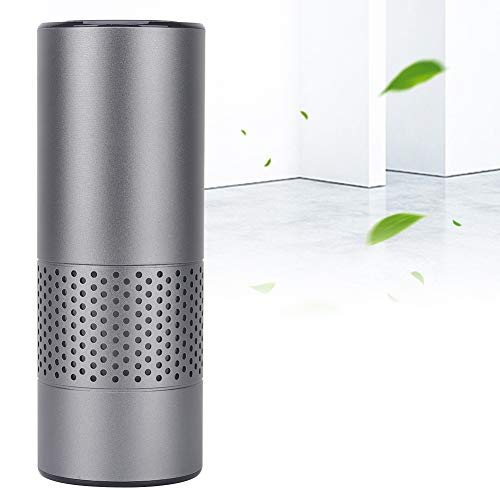 Great Deal! USB Air Purifier, Portable Mini Car Air Purifier Sterilization Formaldehyde Removal Nega...
