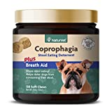 NaturVet Coprophagia - Taburete para Perros (130 Unidades, para Masticar...