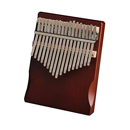 17 Keys Daumenklavier Study Instruction Und Tune Hammer, Finger Marimba Instrument Für Liebhaber Anfänger
