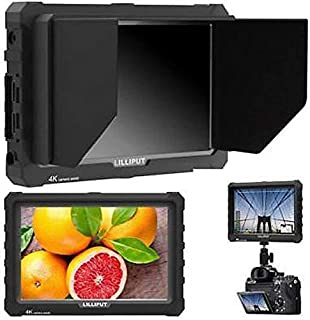 "LILLIPUT A7S 7"" 1920x1200 IPS Screen Camera Field Monitor 4K HDMI Input Output Video for DSLR Mirrorless Camera Sony A7S I..."