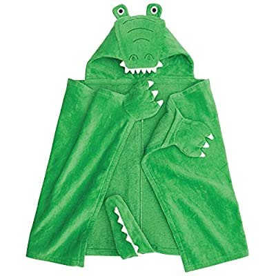 Mud Pie Boys' Puppy Hooded Towel, One Size