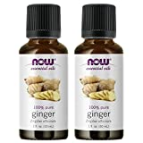 NOW Foods Ginger Oil, 1 ounce (Pack of 2)
