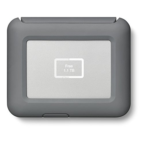 LaCie DJI Copilot Boss In-Field Direct Backup und Power Bank mit SD-Lesegerät, 2000 GB + 1mo Adobe CC alle Apps (2 TB)