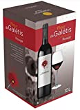 BIB Vin Rouge IGP Pays d'Hérault - Cubi de 10 litres Vin rouge Fleur de Galétis