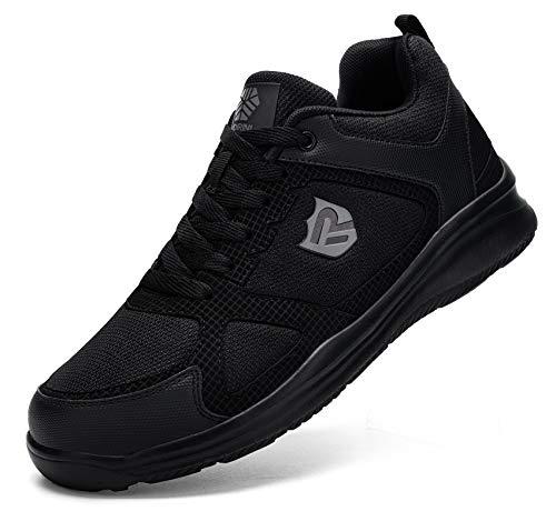 Ziboyue Zapatillas de Seguridad Hombre Mujer Ligero Transpirable Zapatos de Seguridad con...