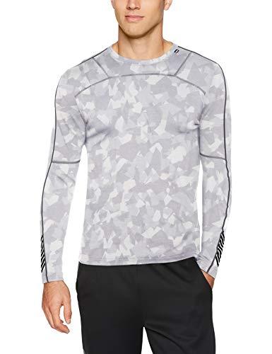 Helly Hansen HH LIFA Merino Crew T-Shirt, Grigio (Gris 944), XX-Large (Taglia Unica: 2XL) Uomo