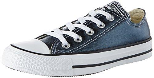 Converse Unisex-Erwachsene CTAS OX Sneaker, Schwarz (Blue Fir/White/Black), 36.5 EU