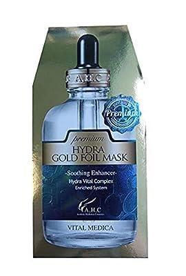 AHC A.H.C Premium Hydra Gold Foil Mask (25G X 5Pcs) from Ahc