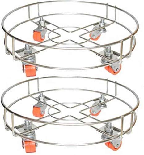 A & Y Gas LPG Cylinder Trolley (Pack of 2)