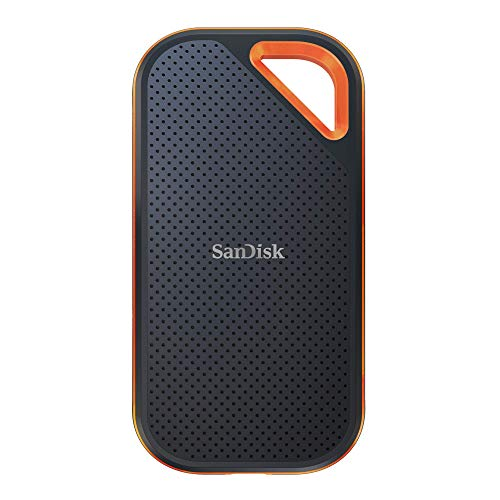 SanDisk 2TB Extreme PRO Portable External SSD - Up to 1050MB/s - USB-C, USB 3.1 - SDSSDE80-2T00-G25
