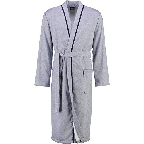 Cawö Home heren badjas Denim Kimono 5707