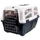 Martin-Sellier - Caisse de transport pour chien & chat - Skudo Iata gris (60cm x 40cm 39cm)
