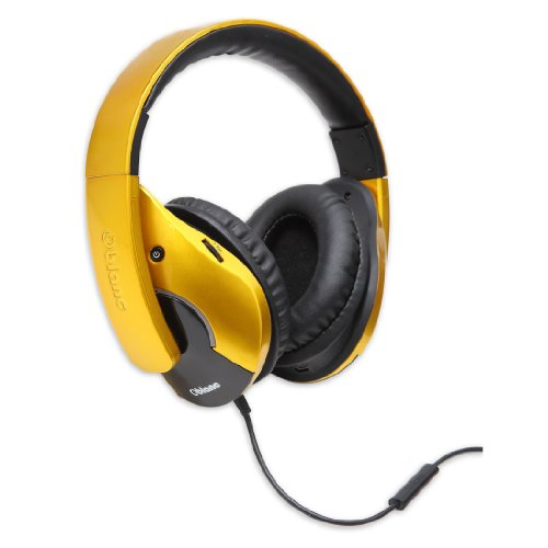 Oblanc OG-AUD63056 Gold Shell 210 Dual Driver Headphone with Internal Amplifier - Gold