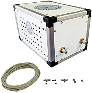 Mid Pressure Misting System - 250 PSI Patio misting System - Up to 40 Nozzles Misting System - for Residential, Warehouse, Industrial Misting - Stainless Steel Misting Nozzles (20 Nozzle System)