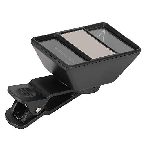 Lente de cámara 3D, Lente de cámara Mini con Clip Externo, Lente de cámara de teléfono Profesional con Clip, para teléfono Inteligente, Tableta