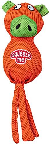 Trixie Polyester Schwein mit Squeaker Ball, 30cm, 1Stück