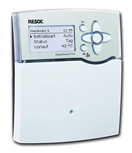 Heizungsregler Resol DeltaTherm HC (1 x FAP13, 1 x FRP21, 3 x FRP6) - Komplettpaket