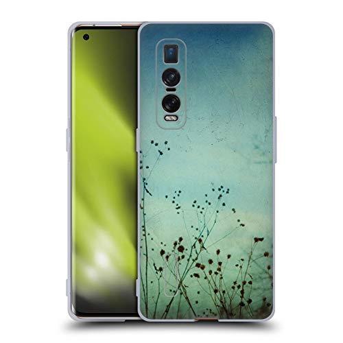 Head Hülle Designs Offiziell lizenzierte Olivia Joy StClaire Daydreams Nature Soft Gel Hülle kompatibel mit Oppo Find X2 Pro