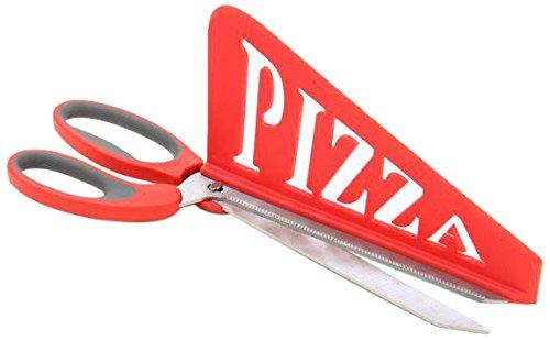 JJA 109023Schere zu pizza- zufällige Farbauswahl