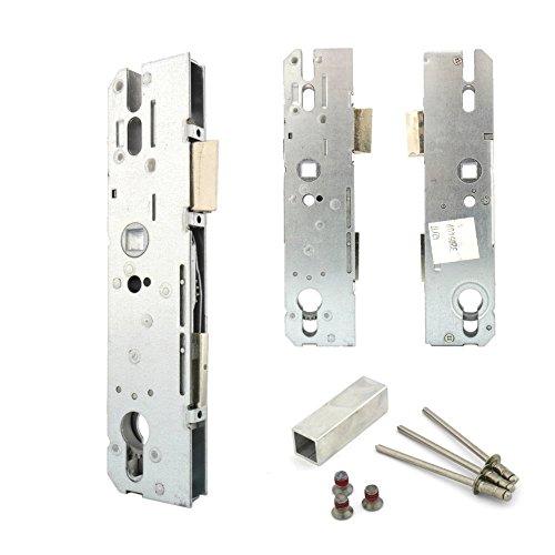 KFV Reparaturschlösser 8250, Hauptschlösser, Renovierungsschlösser für Mehrfachverriegelungen, Schlosskasten 8 mm Nuss, Entfernung 92 mm (Dornmaß: 45 mm)